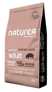 Naturea Dog Naturals Adult Large Wieprzowina 100g