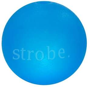 Planet Dog Strobe Ball niebieska - z diodami LED [68804]