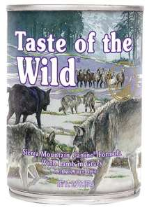 Taste of the Wild Sierra Mountain Canine puszka 390g