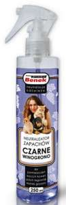 Benek Neutralizator Spray - Czarne winogrono 250ml