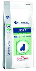 Royal Canin Vet Care Nutrition Neutered Small Adult Weight & Dental 30 8kg