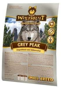 Wolfsblut Dog Grey Peak Small - koza i bataty 15kg