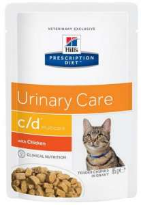 Hill's Prescription Diet c/d Feline z Kurczakiem saszetka 85g