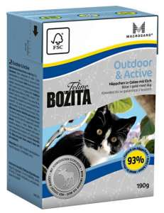 Bozita Cat Tetra Recart Feline Outdoor & Active 190g