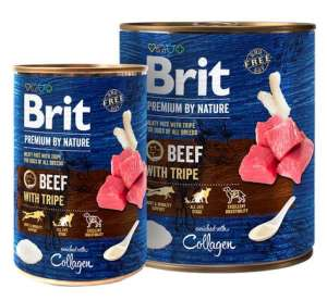 Brit Premium By Nature Beef & Tripe puszka 400g