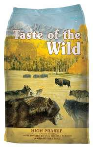 Taste of the Wild High Prairie Canine z mięsem z bizona 5,6kg