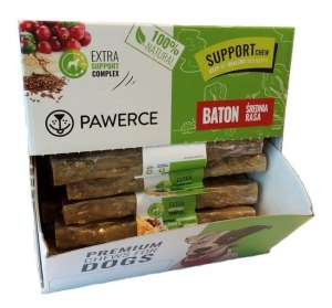 Pawerce Support Bar Medium Breeds display 24x60g