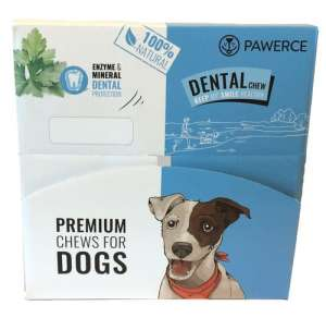 Pawerce Dental Bar Medium Breeds display 24x60g