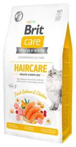 Brit Care Cat Grain Free Haircare Healthy & Shiny Coat 7kg