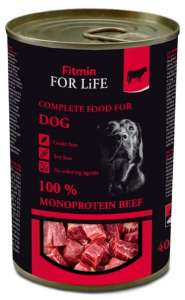 Fitmin Dog For Life Beef puszka 400g
