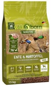 Karma dla psa Wildborn Sensitive Ente & Kartoffel Adult Mini 15kg
