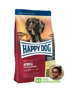 Sucha karma dla seniora Happy Dog 12,5kg Africa
