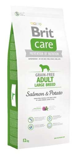 6747Brit Care Grain Free Adult Large Salmon & Potato 12kg-1