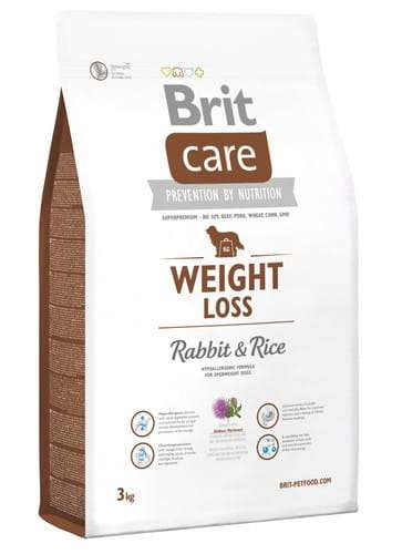 6832Brit Care New Weight Loss Rabbit & Rice 3kg-1