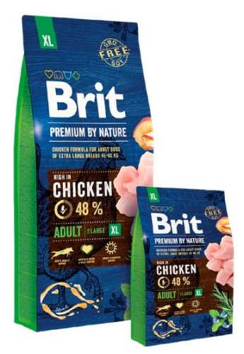 6883Brit Premium By Nature Adult XL Extra Large 15kg-1