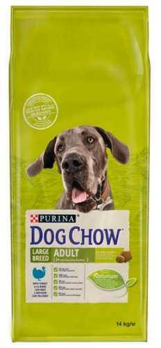 9901Purina Dog Chow Adult Large Breed Indyk 14kg-1