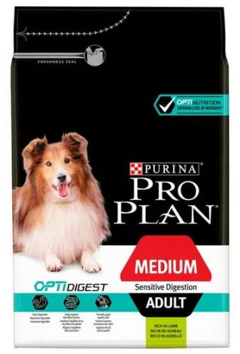 9937Purina Pro Plan Adult Medium Sensitive Digestion OptiDigest 3kg-1