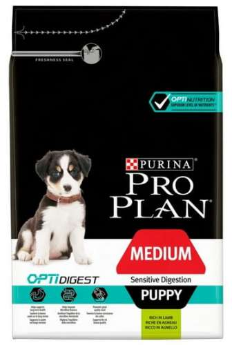 9938Purina Pro Plan Puppy Medium Sensitive Digestion OptiDigest 3kg-1
