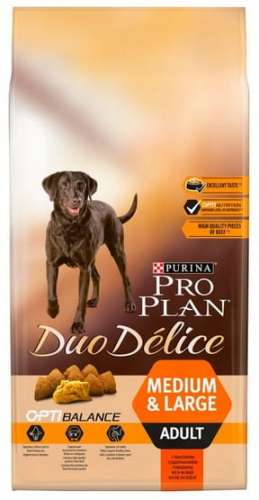 10067Purina Pro Plan Duo Delice Adult Medium & Large Wołowina & Ryż 10kg-1