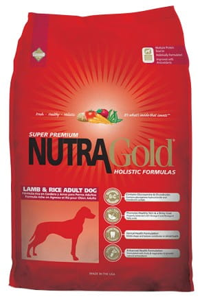 5205Nutra Gold Holistic Lamb & Rice Adult Dog 3kg-1