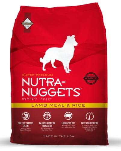 5219Nutra Nuggets Lamb & Rice Dog 3kg-1
