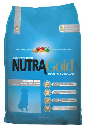 5229Nutra Gold Holistic Senior Dog 15kg-1