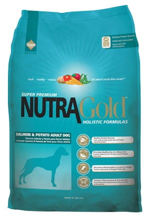 5239Nutra Gold Holistic Salmon & Potato Adult Dog 15kg-1