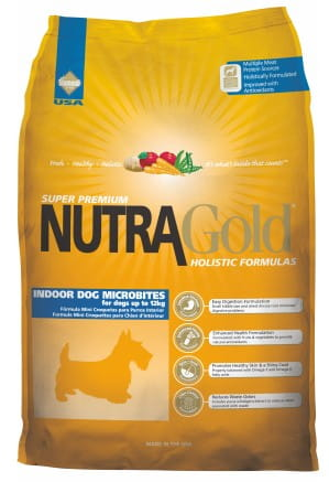 5314Nutra Gold Holistic Indoor Adult Dog Microbites 3kg-1
