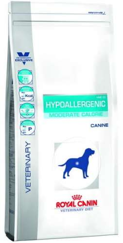 5545Royal Canin Veterinary Diet Canine Hypoallergenic Moderate Calorie 7kg-1