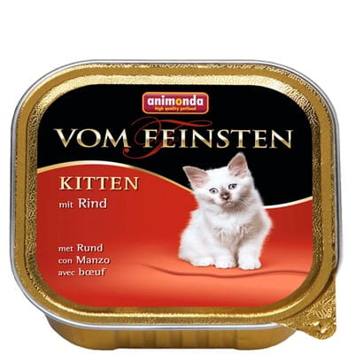 5573Animonda vom Feinsten Cat Kitten z Wołowiną tacka 100g-1