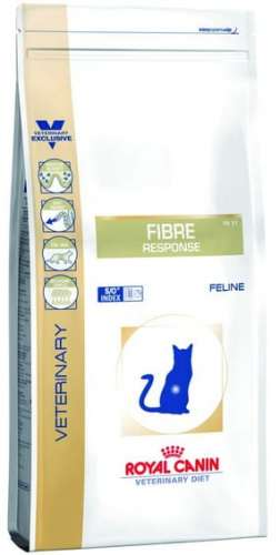 5836Royal Canin Veterinary Diet Feline Fibre Responce Cat FR31 400g-1