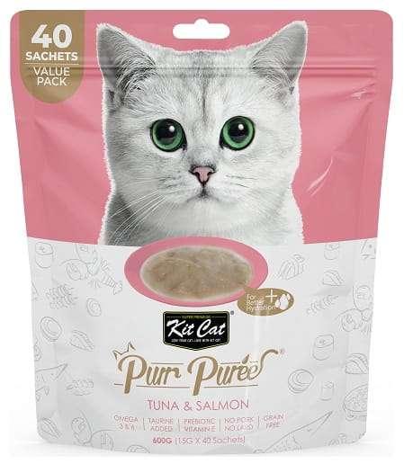 Kit Cat PurrPuree Tuna & Salmon 40x15g